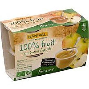 DANIVAL Compota de manzana Pack 440