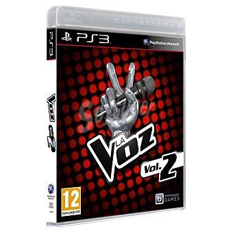 PS3 Videojuego La Voz; Vol. 2  1 unidad