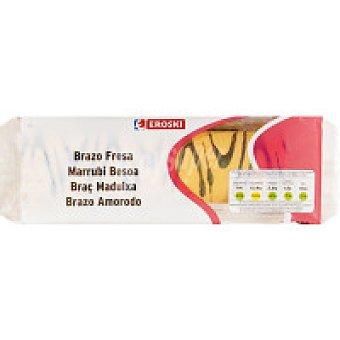 Eroski Brazo relleno de fresa Paquete 300 g