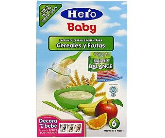 Hero Baby Papilla de cereales-frutas Natur Balance 600GR