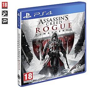 Ubisoft Videojuego Assassin's Creed Rogue Remasterizado HD para playstation 4. Género: Acción. pegi: +18