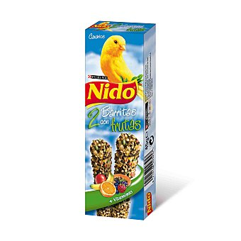 Purina Friskies Nido Barritas con frutas para canarios Bolsa 100 g