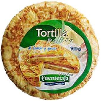 Fuentetaja Tortilla de jamón-queso 1 unid