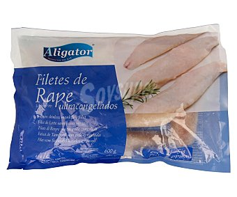 Aligator Filetes de rape ultracongelados 600 g