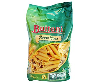 Buitoni Pennes Lisces, pasta de sémola de trigo duro de calidad superiorbuitoni 500 Gramos