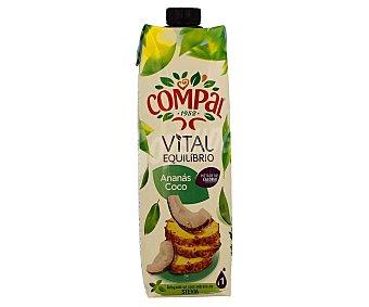 Compal Néctar de coco y piña vital equilíbrio Brick de 1 l