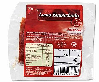 Auchan Taco de lomo embuchado 300 gr