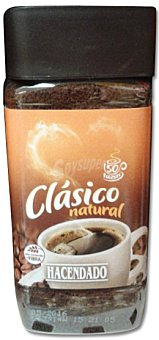 Hacendado Café soluble natural PET 200 g
