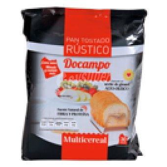 DOCAMPO Pan tostado rústico multicereales paquete 315 gr