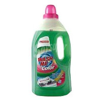 Eroski Detergente líquido ropa color Botella 33 dosis