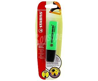 STABILO BOSS Marcador Fluorescente Color Verde 1 Unidad