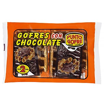 Punto Gofre Gofre chocolate industrial Pack 2 x 140 g - 280 g