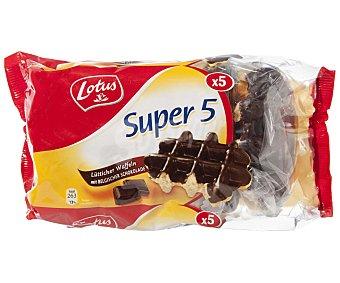 Lotus Gofres con chocolate Paquete 5 u (287 g)