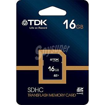 TDK Class 4 Tarjeta de memoria sdhc Clase 4 de 16 GB