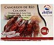 Cangrejos cocidos de río 500 gramos Delfín