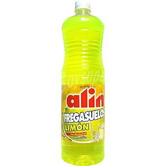Alin Friega suelos limón con bioalcohol botella 1,5 l 1,5 l