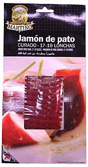 Martiko Jamon pato curado lonchas Paquete 50 g
