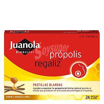 Juanola Pastillas de regaliz con própolis para la garganta 100 g