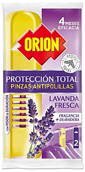 Orion Pinza antipolilla Pack 2 unid