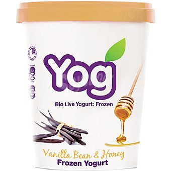YOG yogur helado de vainilla con miel tarrina 500 ml