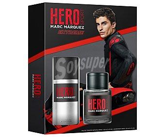 Marc Márquez Estuche regalo para hombre Hero sport extreme  Hero sport extreme.