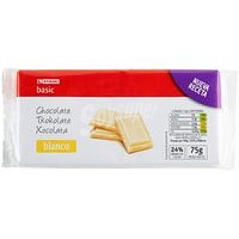 Eroski Basic Choco blanco Pack 3x75 g