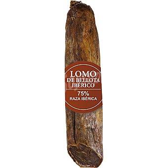 Sierra jerez Lomo de bellota ibérico 75% raza ibérica peso aproximado pieza 600 g