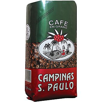 SAO PAULO Superior Campiña cafe natural en grano paquete 500 g Paquete 500 g