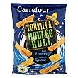 Nachos roller con sabor a queso 125 g Carrefour