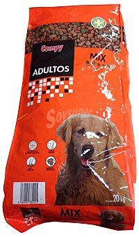 COMPY Comida perro adulto croqueta menú completo Paquete de 20 kg