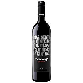 Monólogo Vino tinto crianza D.O. Rioja Botella de 75 cl