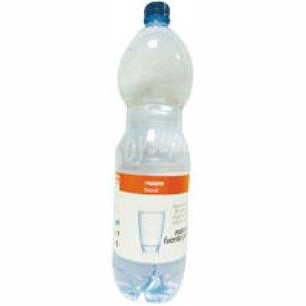 Eroski Agua con gas Botella 1,5 litros