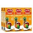 Zumo de fruta y leche Juver Pack de 6 briks de 20 cl Tropical