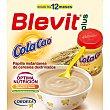 Plus papilla instantanea de cereales dextrinados con Cola Cao desde los 12 meses caja 600 g Caja 600 g Blevit