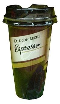 GROPPER Cafe con leche espresso liquido Vaso 250 cc