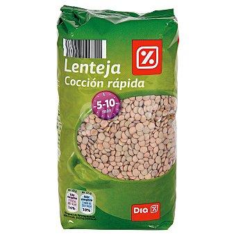 DIA Lenteja cocción rápida Bolsa 1 kg