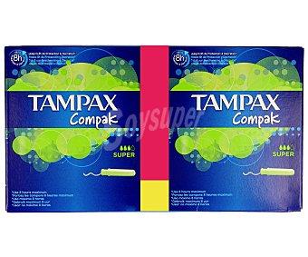 Tampax Tampones super 60u