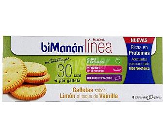 Bimanan Galleta limón hiperproteica 156 Gramos