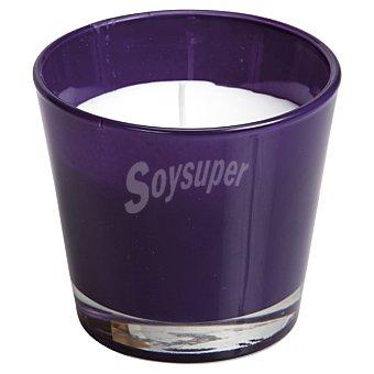 SPAAS Vela Perfumada en vaso cónico en color púrpura