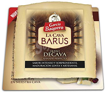 García Baquero Queso la Cava Barus Cuña 250 g
