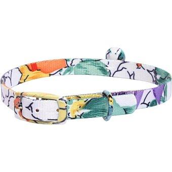 San Dimas Collar con cascabel para gatos multicolor 10x300 mm 1 unidad 1 unidad