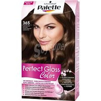 PALETTE Perfect Gloss Tinte chocolate oscuro N.365 Caja 1 unid