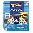 Sucedáneo de angulas,sin gluten y sin lactosa angurinñas 2 x 100 g Pescanova