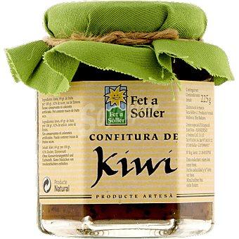 Fet a Soller Confitura de kiwi frasco 225 g Frasco 225 g