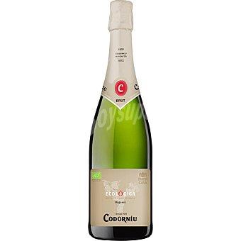 Codorníu Cava brut ecológico botella 75 cl