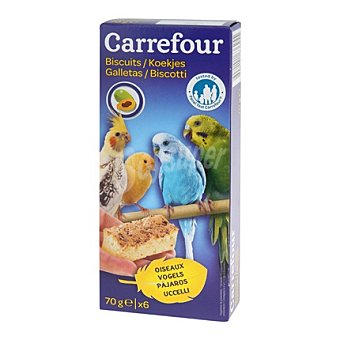 Carrefour Galletas para pajaros Pack 6x110 gr