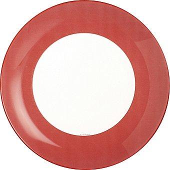 Luminarc Plato hondo 20,5 cm en color rojo 1 Unidad