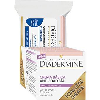 Diadermine crema anti-edad dís básica para todo tipo de pieles  tarro 50 ml