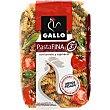 Hélices gallo pasta vegetales 450 g Fina