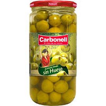 Carbonell Aceitunas de manzanilla sin hueso Frasco 340 g